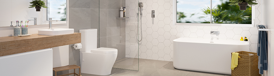 Designing a bathroom with room to grow